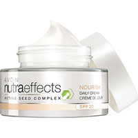 AVON nutra effects Nourish Tagescreme LSF 20