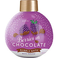 AVON BUBBLE BATH Schaumbad Beeren in Schokolade