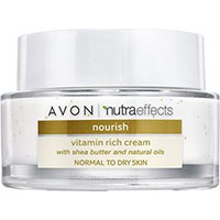 AVON nutra effects Nourish Creme mit Vitaminen