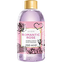 AVON BUBBLE BATH Schaumbad Romantische Rose 250 ml