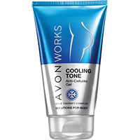 AVON WORKS Cooling Tone Anti-Cellulite-Gel