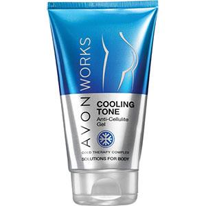 AVON WORKS Cooling Tone Anti-Cellulite-Gel