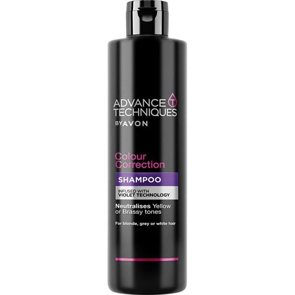 AVON Advance Techniques Farbkorrigierendes Shampoo 400 ml