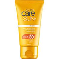 AVON care SUN+ Sonnenschutz Gesichtscreme LSF 30