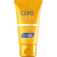 AVON care SUN+ Anti-Aging Sonnenschutz Gesichtscreme LSF 50