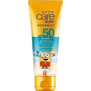 AVON care SUN+ Kids & Baby Multivitamin Sonnenschutz Creme LSF 50 120ml