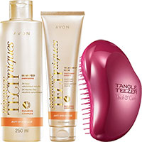 AVON Advance Techniques Anti-Haarausfall & Entwirr-Set 3-teilig