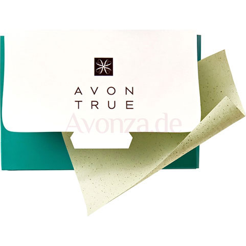 AVON nutra effects Mattierendes Papier