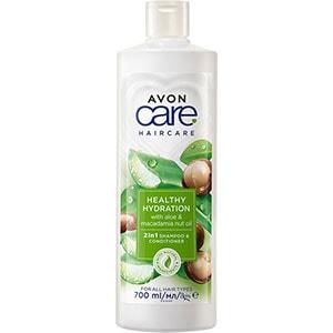 AVON naturals hair Aloe & Macadamia 2-in-1 Shampoo & Spülung 700 ml