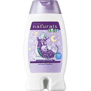 AVON naturals kids Lavendel Duschgel & Schaumbad