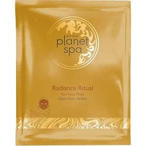 AVON planet spa Radiant Gold Tuchmaske