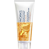 AVON FOOT WORKS Orange & Zimt Fußcreme