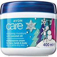 AVON care Multiaktiv-Creme für Gesicht, Hände & Körper mit Avocado-Öl Weihnachtsedition