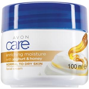AVON care Gesichtscreme mit Joghurt & Honig