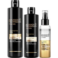 AVON Advance Techniques Supreme Oils 400 ml Set 3-teilig