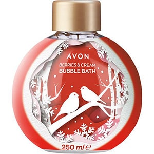 AVON BUBBLE BATH Schaumbad Erdbeer-Sahne 250 ml