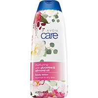 AVON care Pflegende Körperlotion mit Glyzerin & Mandelöl Sonderedition 400 ml
