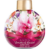 AVON BUBBLE BATH Schaumbad Vanille & Orchidee 250 ml