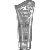 AVON planet spa Korean Charcoal Abziehmaske