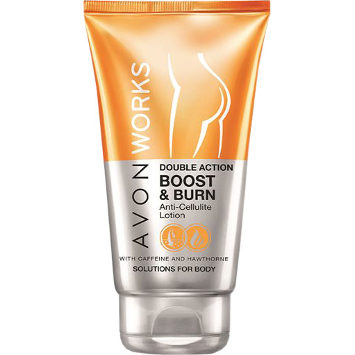 AVON WORKS Boost & Burn Anti-Cellulite-Lotion