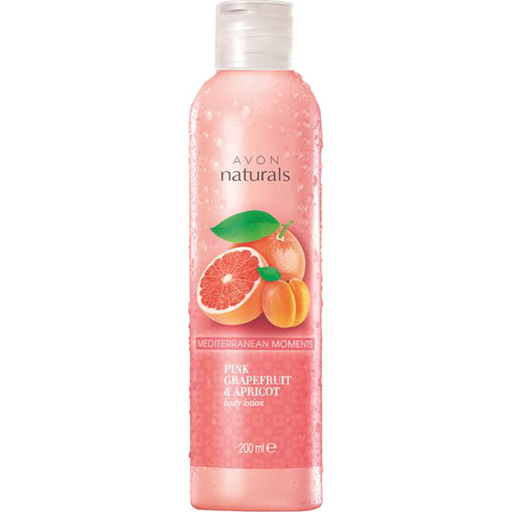 AVON naturals Grapefruit & Aprikose Körperlotion