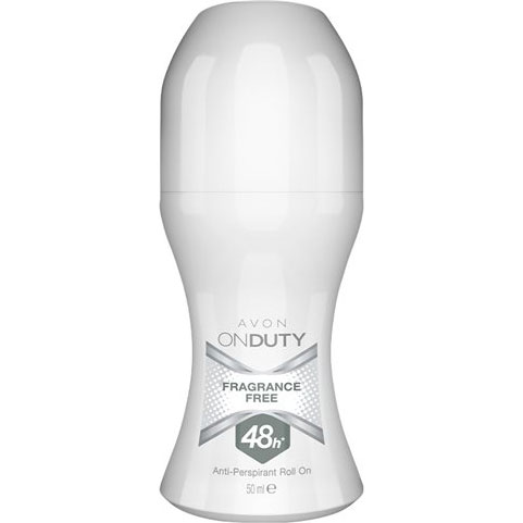 AVON On Duty Fragrance-Free Deoroller