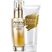 AVON ANEW Ultimate Gelprimer + Goldmaske Set 2-teilig