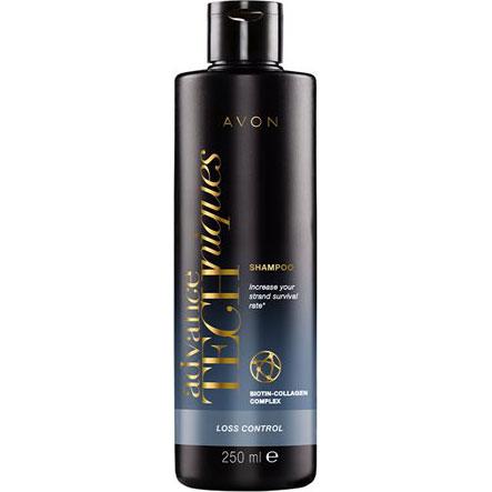 AVON Advance Techniques Loss Control Shampoo gegen Haarausfall 250 ml