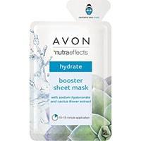 AVON nutra effects Booster Maske mit Hyaluronsäure & Kaktusblüte