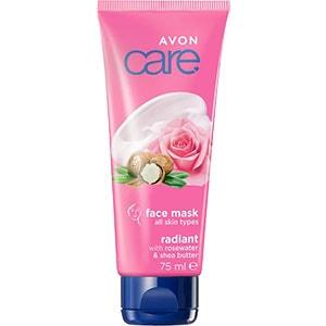 AVON care Gesichtsmaske mit Rosenwasser & Sheabutter