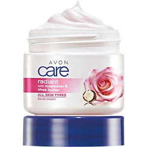 AVON care Gesichtscreme mit Rosenwasser & Sheabutter