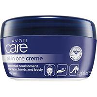AVON care Creme für Gesicht, Hände & Körper mit Milchproteinen & Vitamin E 200 ml