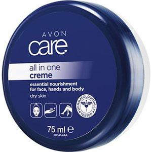 AVON care Creme für Gesicht, Hände & Körper mit Milchproteinen & Vitamin E Reisegröße