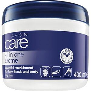 AVON care Creme für Gesicht, Hände & Körper mit Milchproteinen & Vitamin E 400 ml