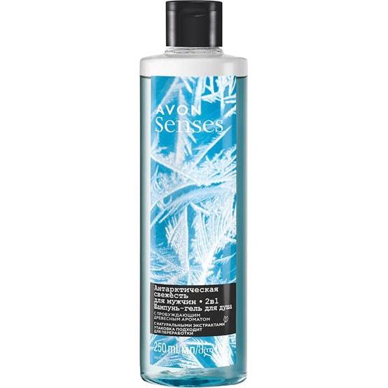 AVON senses Cool Blast Shampoo & Duschgel 250 ml
