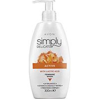 AVON simply delicate Intim-Waschlotion mit Milchsäure