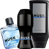 AVON Musk Marine Duft-Set 3-teilig