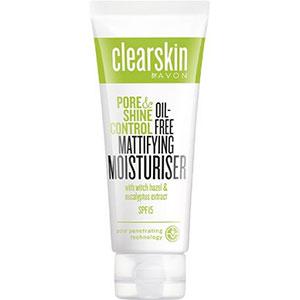 AVON clearskin pore & shine Mattierende Feuchtigkeitspflege LSF 15