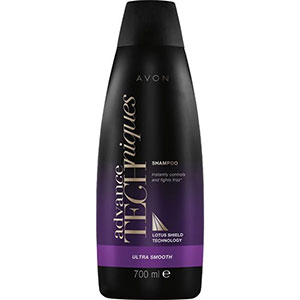 AVON Advance Techniques Ultra Smooth Glättendes Shampoo 700 ml