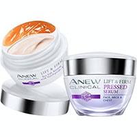 AVON ANEW Clinical 2-Phasen-Augenpflege + Gepresstes Serum Set