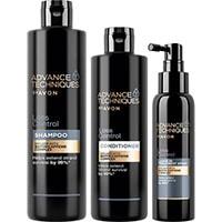 AVON Advance Techniques Loss Control Haarpflege-Set 3-teilig