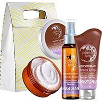 AVON planet spa Beauty Sleep Pflege-Set 3-teilig + Geschenktasche