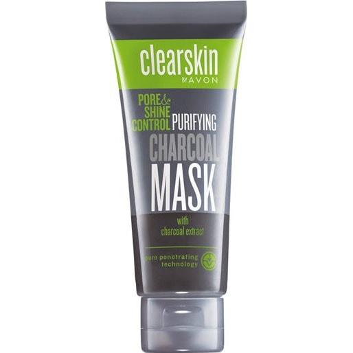 AVON clearskin pore & shine control Aktivkohle-Gesichtsmaske