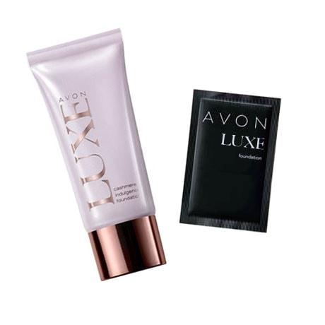 Probe Make-up AVON LUXE Cashmere Foundation