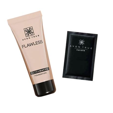 Probe Make-up AVON True Flawless Ultra Matte Foundation