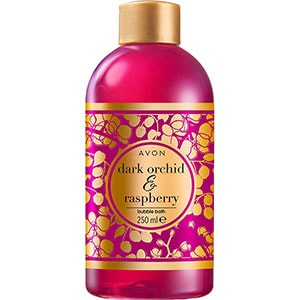 AVON BUBBLE BATH Dunkle Orchidee & Himbeere Schaumbad 250 ml