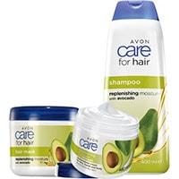 AVON care Avocado Körperpflege-Set 3-teilig + Geschenktasche