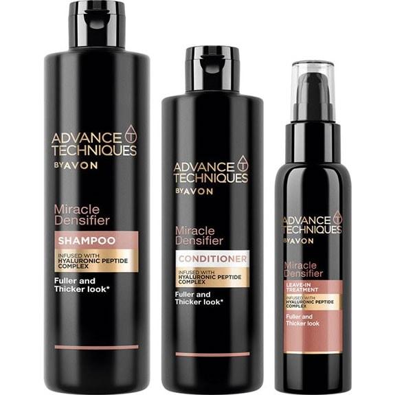 AVON Advance Techniques Miracle Densifier Haarpflege-Set 3-teilig