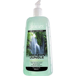 AVON senses Amazon Jungle 2-in-1 Shampoo & Duschgel 720 ml