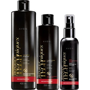 AVON Advance Techniques Haarpflege-Set für geschädigtes Haar 3-teilig